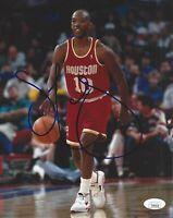 Sam Cassell Signed 8x10 Photo JSA COA Autograph NBA Houston Rockets  #2