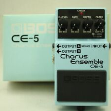 BOSS CE-5 Chorus Ensemble With original box Guitar effect pedal F/S (SW74516)