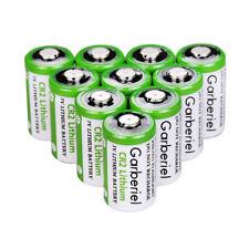 10 PCS Garberiel CR2 Lithium Batteries 3V for Camera Stun Pens Flashlight Laser