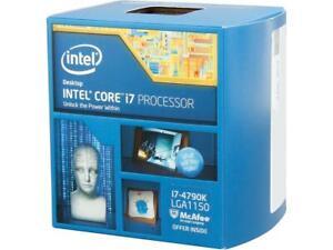 Intel Core i7-4790K 4x4.0GHz 8mb Quad Core LGA1150 Processor (Box)