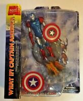 WHAT IF? CAPTAIN AMERICA MARVEL DIAMOND SELECT ACTION FIGURE 2009 MOC