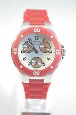 Invicta 0701 Angel Cranberry Silicone Ladies Chronograph Watch