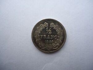 1/2 FRANC L-PHILIPPE 1844 W