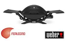 Barbecue BBQ Gas Power 2 6kw Black Picnic Carry Mod.weber Q 1200