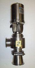 """2 1/2"""" Waukesha Cherry-Burrell Sanitary Air Actuated Diverter Valve"""