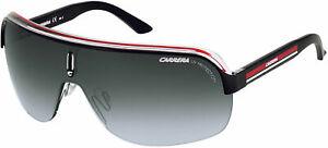 CARRERA SUNGLASSES TOPCAR 1 KBOPT 99 CRYSTAL BLACK/RED