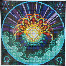 "Ehrman Tapestry Needlepoint Kit ""Day One: Light"" Creation Series 16""x16"" Rare!"