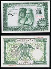 1000 Pesetas 1957 Reyes Católicos. Serie Z 5464766. NO CIRCULADO MÍNIMO DOBLEZ.