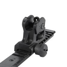Metal Adjustable Rear Iron Dual apertures Sight Rifle Rear Sight 20mm Rail Mount