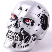 Terminator Endoskeleton Skull Head PVC Figure Collectible Model Toy