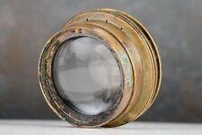 :Bausch & Lomb Zeiss Tessar Series Ic 5x7 f/4.5 Brass Barrel Large Format Lens