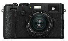 Fuji X100F 24.3 MP 3-Inch LCD Camera with 23 mm f/2.0 Fujinon Lens Kit - Black