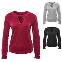 Only Damen Bluse Blusenshirt Blusentop Top Shirt Tunika Plissee Color Mix NEU