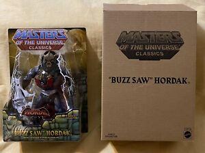 Buzz Saw Hordak Masters of the Universe Classics Mattel Figure MOTU New In Box