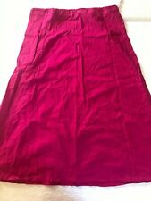 indian saree petticoat.pure cotton pink color.