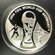 Georgia Silver Coin 1 Lari 2004 Futbol+Sertifikat
