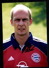 Mario Basler SUPER foto il Bayern Monaco 1999-00 (10) firmato originale