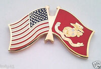 USA / AMERICAN / US MARINES FLAG  Military Hat Pin P62593 EE