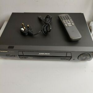Panasonic NV-SD440 Super Drive VHS VCR 4-Head Video Recorder with Remote