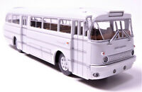 H0 BREKINA Bus Ikarus 66 Reisebus Überlandbus DDR Schulbus lichtgrau # 59556