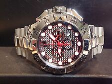 Jason Taylor Invicta RESERVE Limited Edition Men's Watch 316/999 Black Red 17841