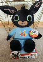 BEDTIME BING BUNNY CBEEBIES PLUSH MUSIC PHRASES TALKING SOFT TOY NEW