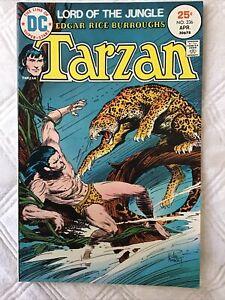 TARZAN of the APES #236 FN/VF Edgar Rice Burroughs,  Joe Kubert, 1975 HIGH GRADE