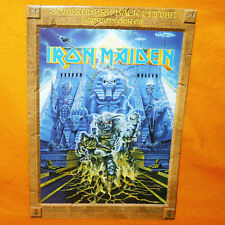 More details for iron maiden somewhere back in time world tour 2008 souvenir poster / programme