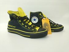 bfbba11895b Pittsburgh Steelers Unisex Converse Chuck Taylor Tennis Shoes Women Size 8  Men 6