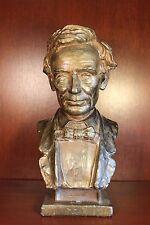 Louis Mayer Abraham Lincoln Bronze Bust Antique US President