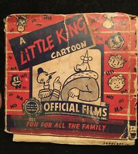 Little King 8 mm Reel Film Cactus Capers 1900s by Soglow Western Train Cartoon