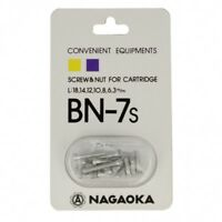 Nagaoka Phono-Schrauben-Set Silber BN-7S *NEU*
