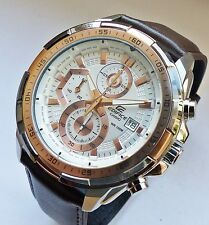 CASIO Edifice watch collection - WR100 Multifunktions XL Chronograph