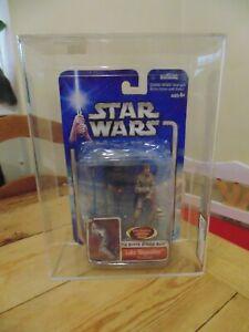 Star Wars Luke Skywalker Bespin Duel Blue Card AFA not CAS UKG
