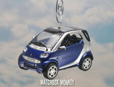 Custom Smart Car ForTwo Ornament 1/43 Mini For Two Electric Volt Roadster Coupe