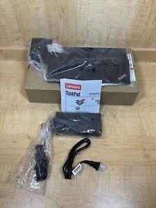 Genuine LENOVO ThinkPad Ultra Dock Type 40A2 Docking Station w/ AC Adapter/keys