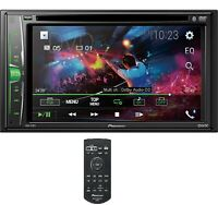 """NEW Pioneer 2 Din AVH-211EX DVD/MP3/CD Player 6.2"""" Touchscreen Bluetooth Remote"""