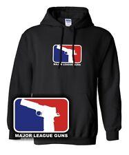 MAJOR LEAGUE GUNS Pistole 1911 Beretta Game Gun Waffe Gangster yolo nerd Hoodie