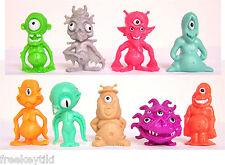 Random Doubles Given 10 Retro Oh No! Aliens UFO B Movie Toys Party Favors 1.5""