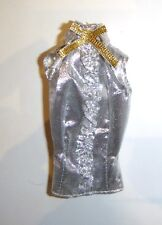 Barbie Fashion Silver Top For Model Muse Dolls fn062