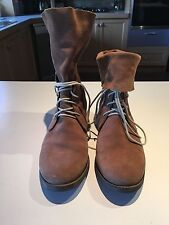 Wittner Suede Lace Up Boots for Women