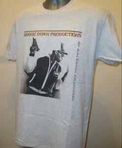Boogie Down Productions Music T Shirt Retro Hip Hop Public Enemy Gang Starr T283