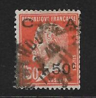 FRANCIA. Yvert nº 248 usado y defectuoso