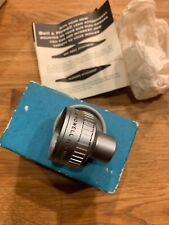 Bell & Howell 1-1/2 x Wide Angle Attachment Lens for 8mm Camera NOS