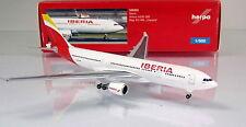 "Herpa Wings 529303  Iberia Airbus A330-200  Reg.: EC-MIL ""Oaxaca"" - Scale 1/500"