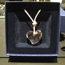 Swarovski Rosaline Crystal Mini Heart Pendant with adjustable strap