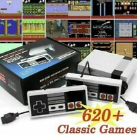 Mini Retro Game Console 620 Built-In Classic Games 2 Controller