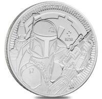 2020 Star Wars Boba Fett 1 oz .999 Fine Silver Coin - IN  COIN CAPSULE