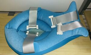 Whale Baby Bath Support Infant Shower Gift Cushion Bathtub Newborn Baby (BLUE)