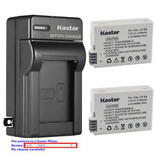 Kastar Battery Wall USB Charger for Canon LP-E8 E8 Battery LC-E8 LC-E8E Charger